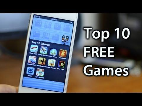 10 Best Games For iPhone & Ipod