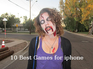 best games for iphone zombie area